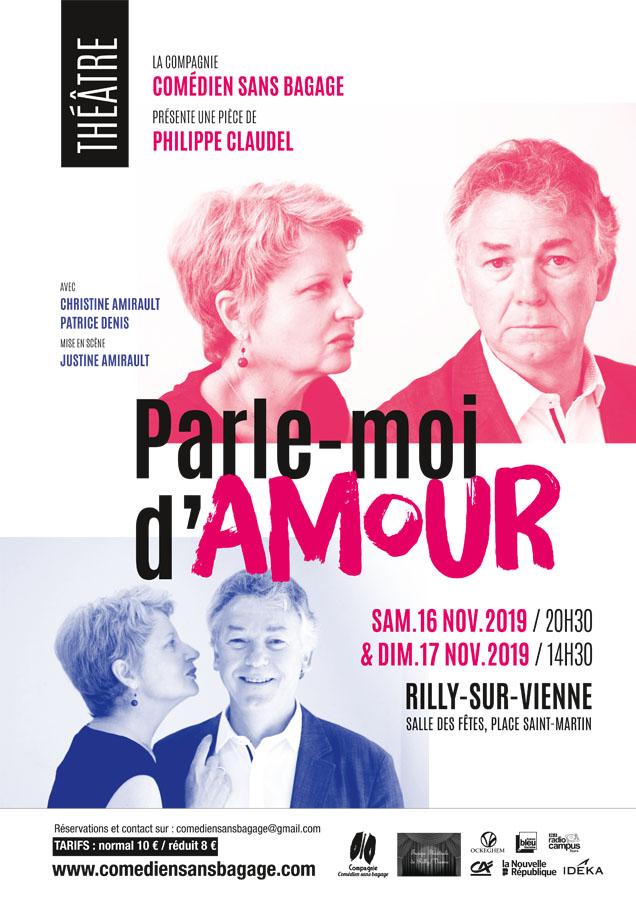 """Comédie """"Parle-moi d'amour"""